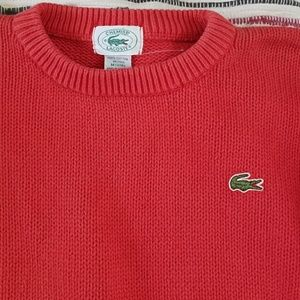 Lacoste knit crewneck sweater